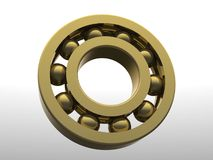 Golden gear Royalty Free Stock Image