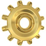 Golden gear Stock Images