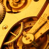 Golden gear Royalty Free Stock Photos