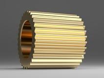Golden gear Stock Photo