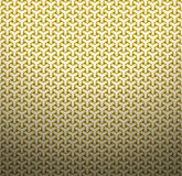 Golden geometric background Stock Image