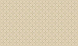Golden geometric pattern, part 26. Seamless golden pattern with lines, rhombuses and geometric figures on the white background. Can use for wrapping paper Royalty Free Stock Photo
