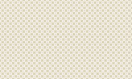 Golden Geometric Pattern 10v3, Increased. Seamless Golden Pattern with Lines, Rhombuses and Circles on White Background. Can Use for Wrapping Paper, Textile Royalty Free Stock Photography