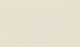 Golden Geometric Pattern 10v4, Increased. Seamless Golden Pattern with Lines, Rhombuses and Painted Circles on White Background. Can Use for Wrapping Paper Stock Image