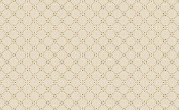 Golden Geometric Pattern 2v1, Increased. Seamless. Golden Pattern with Lines, Rhombuses and Geometric Figures on White Background. Can Use for Wrapping Paper Stock Image
