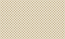 Golden Geometric Pattern 4v3, Increased. Seamless. Golden Pattern with Lines, Rhombuses and Geometric Figures on White Background. Can Use for Wrapping Paper Stock Photo