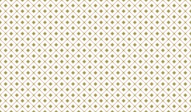Golden Geometric Pattern 7v6, Increased. Seamless. Golden Pattern with Serif Lines and Painted Rhombuses on White Background. Can Use for Wrapping Paper Royalty Free Stock Photo
