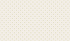 Golden Geometric Pattern 7v5, Increased. Seamless. Golden Pattern with Serif Lines and Rhombuses on White Background. Can Use for Wrapping Paper, Textile and Stock Photo