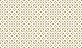 Golden Geometric Pattern 7v8, Increased. Seamless. Golden Pattern with Serif Lines, Painted Rhombuses and Circles on White Background. Can Use for Wrapping Royalty Free Stock Photography