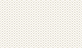 Golden Geometric Pattern 8v8, Increased. Seamless. Golden Pattern with Zigzag of Serif Lines and Painted Circles on White Background. Can Use for Wrapping Paper Royalty Free Stock Image