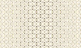 Golden Geometric Pattern 4v4, Increased. Seamless. Golden Pattern with Lines, Rhombuses and Geometric Figures on White Background. Can Use for Wrapping Paper Royalty Free Stock Image