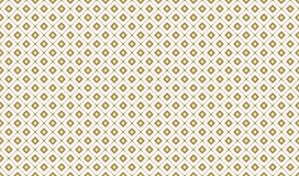 Golden Geometric Pattern 7v7, Increased. Seamless. Golden Pattern with Serif Lines and Painted Rhombuses with Hole on White Background. Can Use for Wrapping Stock Photography