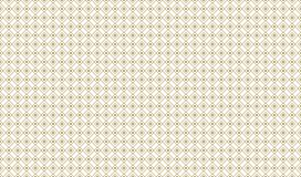 Golden Geometric Pattern 9v2, Increased. Seamless Golden Pattern with Lines, Circles and Rhombuses in Frames on White Background. Can Use for Wrapping Paper Royalty Free Stock Photos