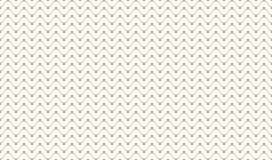 Golden Geometric Pattern 8v4, Increased. Seamless. Golden Pattern with Zigzag of Serif Lines and Painted Rhombuses on White Background. Can Use for Wrapping Royalty Free Stock Photography