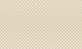 Golden Geometric Pattern 1v1. Seamless. Golden Pattern with Lines, Rhombuses and Geometric Figures on White Background. Can Use for Wrapping Paper, Textile and Stock Photo