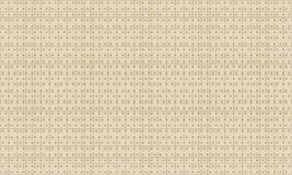 Golden Geometric Pattern 5v1. Seamless. Golden Pattern with Lines, Squares and Geometric Figures on White Background. Can Use for Wrapping Paper, Textile and Stock Image