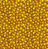 Golden Geometric Seamless Royalty Free Stock Image