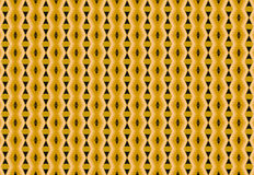 Golden geometries with black holes abstract pattern Royalty Free Stock Image