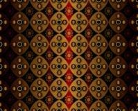 Golden Geometry Pattern Stock Image