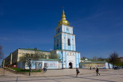 Golden-Gewölbtes Kloster Str.-Michael in Kiew Stockfoto