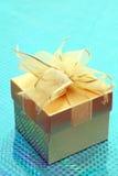 Golden gift Stock Image