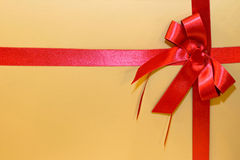 Golden gift Royalty Free Stock Images
