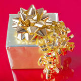Golden Gift Royalty Free Stock Image