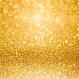 Gold 50 Anniversary Party Invite Coin Sparkle Background