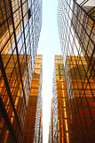 Golden Glass Building Royalty Free Stock Photo