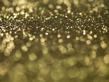 Golden glitter Royalty Free Stock Photography