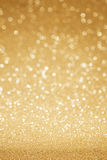 Golden glitter abstract background Stock Images