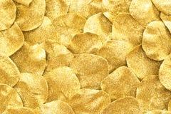 Golden glitter background Stock Images