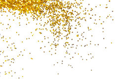 Golden Glitter Background Royalty Free Stock Photography