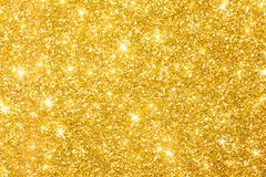 Golden Glitter Background Banner royalty free stock image