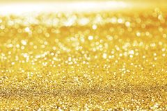 Golden glitter background royalty free stock images