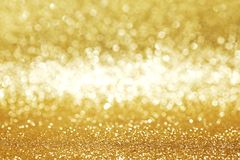 Golden glitter background Royalty Free Stock Image