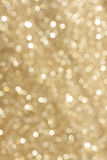 Golden glitter blur Stock Image