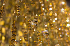 Golden glitter Royalty Free Stock Photos