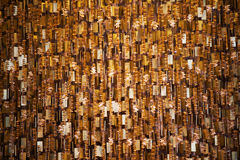 Golden glitter christmas abstract Royalty Free Stock Images