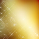 Golden glitter christmas background. Close up Royalty Free Stock Photo