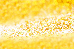 Golden glitter Royalty Free Stock Photo