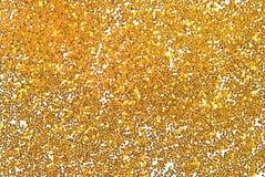 Golden glitter Royalty Free Stock Photo