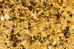 Golden glitter - excluseve texture. High resolution photo Royalty Free Stock Image
