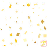 Golden glitter frame background. vector illustration. Golden glitter frame background. vector Royalty Free Stock Photos