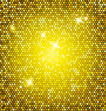 Golden glitter  Royalty Free Stock Images