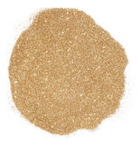 Golden glitter Royalty Free Stock Image