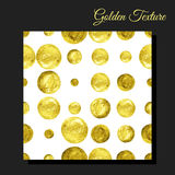 Golden glitter seamless background Royalty Free Stock Photo