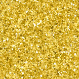 Golden glitter seamless pattern. For luxurys design. Glittering gold confetti background Royalty Free Stock Image