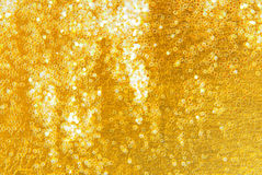 Golden  glitter sparkle  background Royalty Free Stock Photos