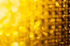 Golden glitter and stars for christmas background Royalty Free Stock Image